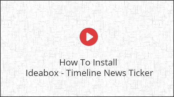 Ideabox - Timeline News Ticker - 1